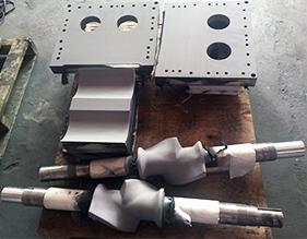 密炼机转子、密封装置喷涂碳化钨耐磨涂层
