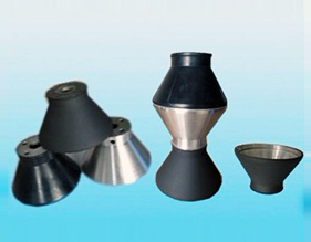 Dispersion disk tungsten carbide coating